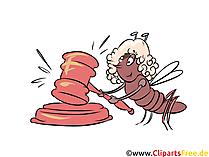 Richterhammer Clipart, Urteil Hammer Illustration, Recht Bild