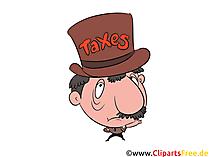 Banker Clip Art, Taxes Images