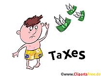 Taxes Clip Art free for Financial Topics