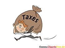 Taxes Clip Art gratis