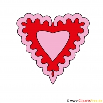 Clipart Tag der Liebenden