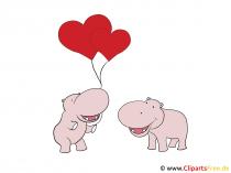 Grusskarten liebe Grüße zum Valentinstag