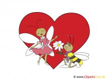 Happy Valentine Cartoon