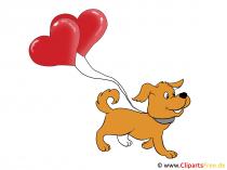 Happy Valentine Grusskarte
