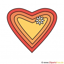 Herz Clip Art zum Valentinstag