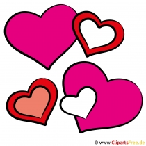 Herze zum Valentinstag Bilder kostenlos