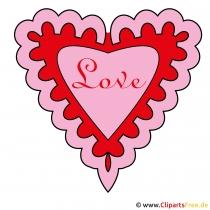 Tag der Liebenden Clipart