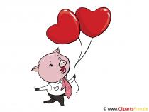 Valentinstag basteln und gratulieren mit unseren Karten