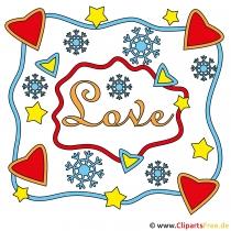 Valentinstag Glückwunschkarte gratis