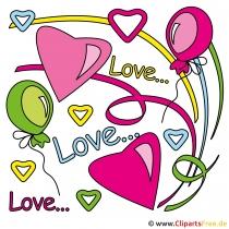 Valentinstag kostenlose Cliparts gratis zum download