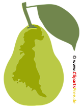Pear Clipart - Graphics SVG