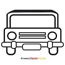 PKW Bild Clipart kostenlos