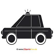 Polis Arabası Küçük Resim - SVG Graphics