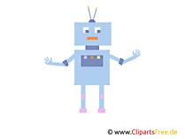 Robot Clip Art, Image, free