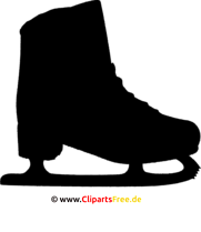 Schlittschuh SVG Grafik