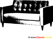 Sofa SVG Resim