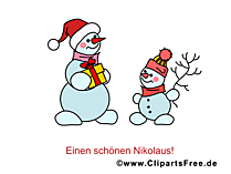 Bild zu Weihnachten mit Schneemaenner