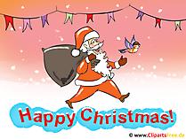 クリスマスと新年の写真
