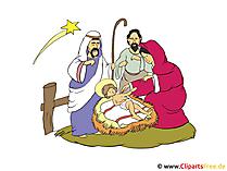 Christliche Weihnachtskarten selbst machen