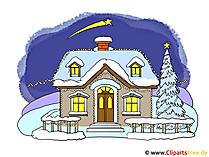 クリスマスの写真クリップアート