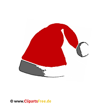 Claus hat afbeelding Clipart