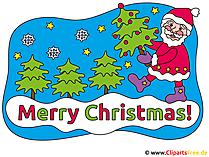 クリップアートクリスマス