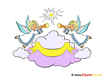 Angel in the sky Clipart-afbeeldingen