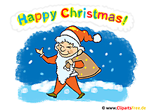 Happy Christmas clipart, afbeelding, grafisch, kaart