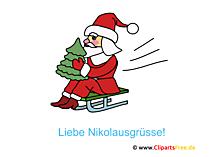 Lustige Nikolaus Bilder