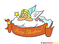 メリークリスマスカード - クリップアート