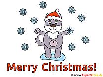 Mery Christmas Clip Art
