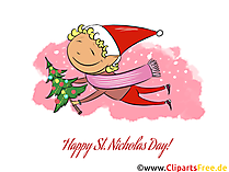 Greetings to Santa Claus cliparts, cards, pictures