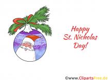 有趣的圣诞老人图片,剪贴画,插图