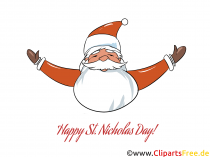 St. Nicholas Day cliparts to individually design your worksheets