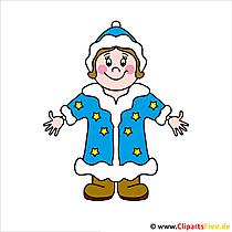 Snegurochka Weihnachtsbild gratis