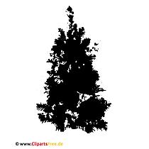 モミの木クリップアートグラフィック