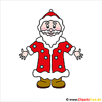 Father Frost Clipart - Christmas Pictures