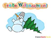 Weihnachten Cartoons