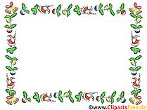 Kerst clipart frame