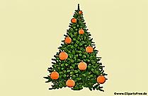 Carte de voeux vintage d'arbre de Noël pour l'impression