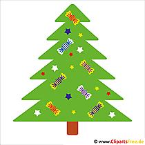 クリスマスツリー無料クリスマスクリップアート