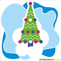 クリスマスツリークリスマスのクリスマスの写真