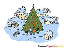印刷用クリスマス画像