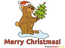 Weihnachtsgrüße Karte