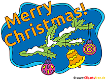 クリスマスの挨拶の写真