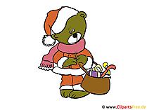 私たちのクリップアートでクリスマスカードを自分でデザインする