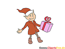 Kerst engel Clipart