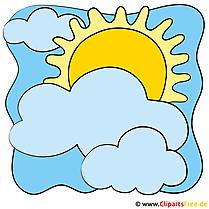 Icon Wetter Sonne mit Wolken