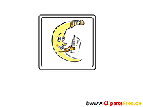 Mond  Icon, Bild, Clipart, Grafik kostenlos