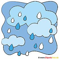 Regenwolken Bild
